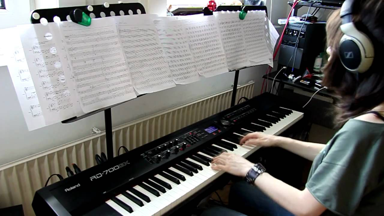 At the cross piano cover