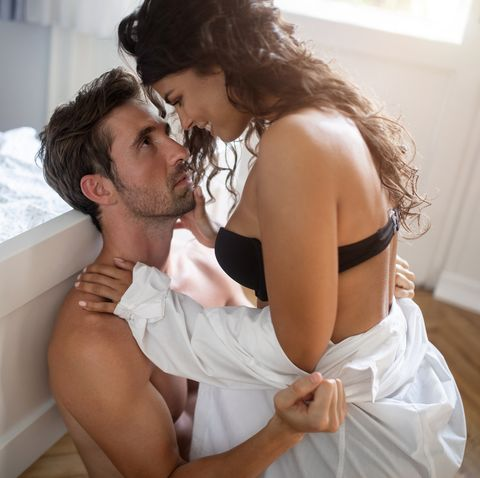 Couple sex position girl on guy