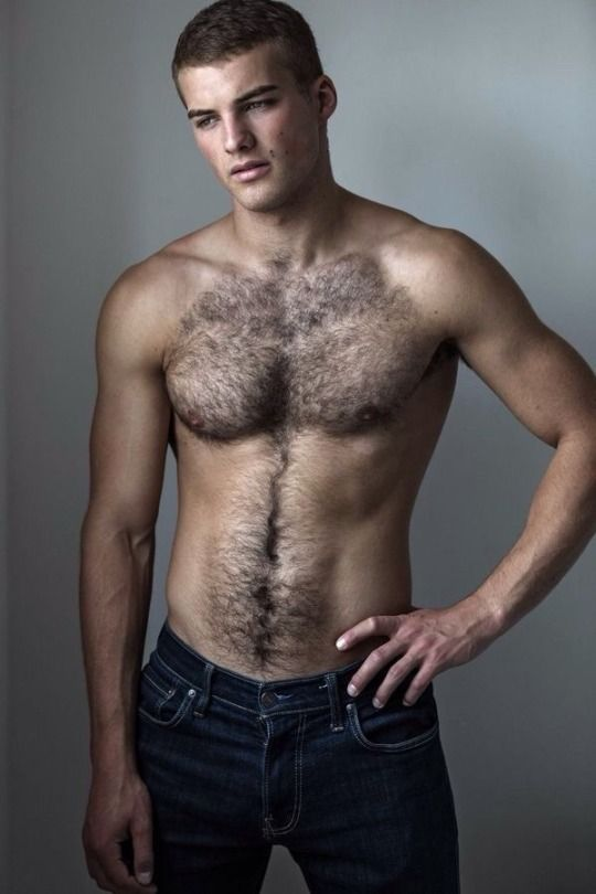 Hairy young men