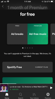 How to update to spotify premium